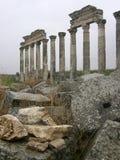 Columnata en Apamea Imagen de archivo