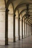 Columnata en Lisboa, Portugal. imagen de archivo