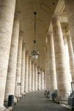 Columnata en St Peter Square Vatican Fotografía de archivo libre de regalías