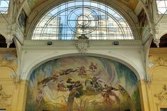 Columnata Marianske Lazne foto de archivo libre de regalías