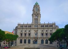 columned budynku sali Hungary miasta Zdjęcie Stock