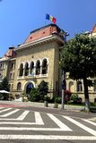 columned budynku sali Hungary miasta obrazy stock