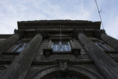 Columned byggnad Royaltyfri Bild