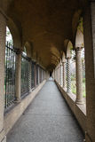 Columned Entrance Franciscan Monastery Gardens DC Stock Photos