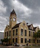 Columned Gebäude Stockfotos