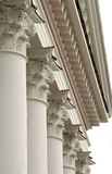 Columns. Coloumns of an ancient building royalty free stock image