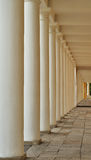 Columns. Stone columns lit from the side Stock Photo