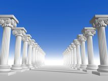 Columns 15 Royalty Free Stock Image