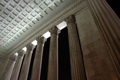 Columns. A perspective of columns royalty free stock photography