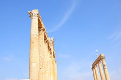 Columns. Marble columns in an ancient city Stock Photography