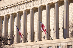 Columns. Support Roof of Government Building Stock Photography