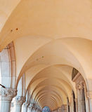 Columns. Row of columns in a San Marco square arcade Stock Photography