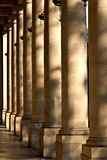 Columns. In front of the Comedie Francaise - Paris, France royalty free stock images