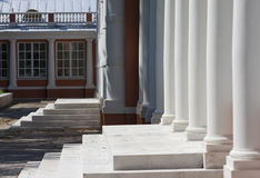 Columns. At the Voroncov building in Moscow (RUS Stock Photography