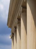 Columns. Over blue sky Royalty Free Stock Photo