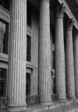 Columns. Pillars of Building stock photography
