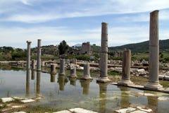 Columns abnd ruins Stock Photos
