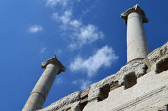 Columns against the sky Stock Images