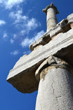 Columns against the sky Royalty Free Stock Photography