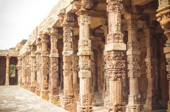 Columns in Agra Royalty Free Stock Image