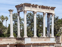 Columns amphitheatre Royalty Free Stock Photos
