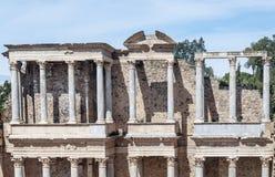 Columns amphitheatre Stock Image