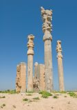 Columns of ancient city Royalty Free Stock Image