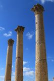 The ancient city of Jerash in Jordan Stock Photos