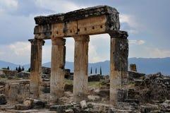 Greco-Roman and Byzantine Hierapolis Royalty Free Stock Photos