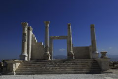 Columns of the ancient Laodicea Stock Image