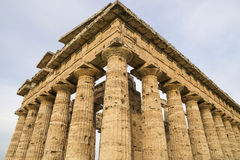 Columns of an Ancient Temple Royalty Free Stock Photos