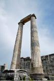 The columns of Apollo Temple Royalty Free Stock Photos