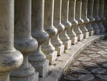 Columns in arc Stock Photos
