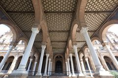 Columns and arcades Royalty Free Stock Photography