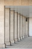 Columns in the arch, perspective. Image of columns in the arch, perspective Stock Photos