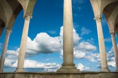 Ancient roman building Stock Image