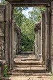 Columns and arches, Angkor Wat, Cambodia Stock Image