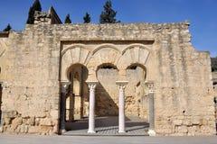 Medina Azahara. Cordoba, Spain Royalty Free Stock Photo
