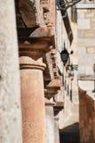 Columns. Architectural detail. Ancient columns, capitals Stock Image