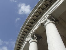 Columns architecture detail Stock Image