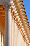 Columns around the perimeter Stock Photo
