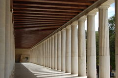 Columns, athens Royalty Free Stock Photos