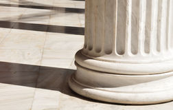 Columns in Athens, Greece. Architectural detail of Corinthian columns in Athens, Greece Royalty Free Stock Image