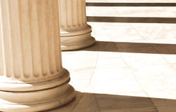 Columns in Athens, Greece Royalty Free Stock Image