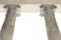 Columns in Athens, Greece Royalty Free Stock Photo