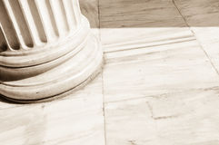 Columns in Athens, Greece Royalty Free Stock Photography