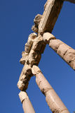 Columns at baalbek Stock Photo