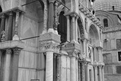 Columns of the Basilica di San Marco Stock Images