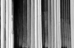 Columns in black and white Royalty Free Stock Photo