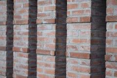 Columns of bricks background royalty free stock photos